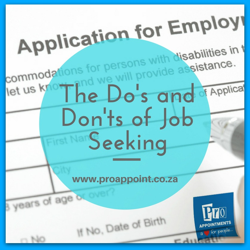 Free Resources For Job Seekers: Do's And Don'ts For Job Seekers